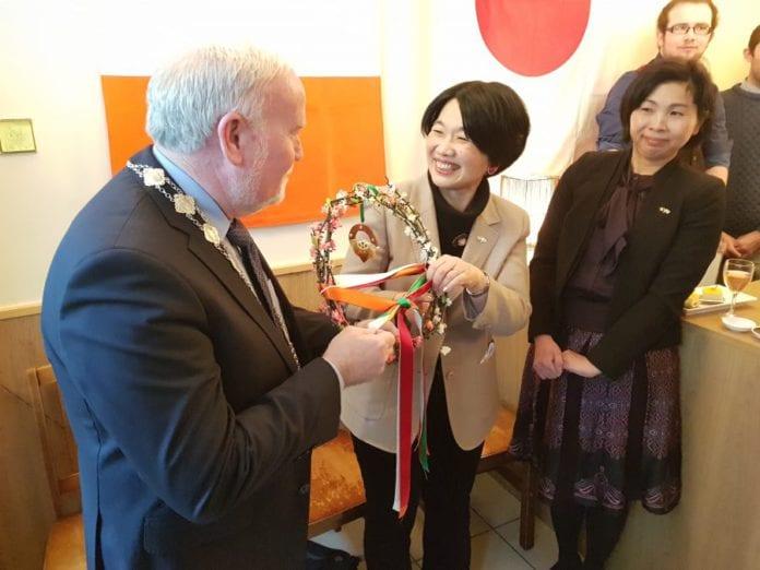 Galway daily news Japanese Ambassador visits Galway