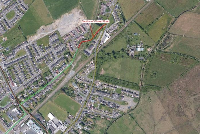 Galway daily news Athenry road closed for a month for roadworks