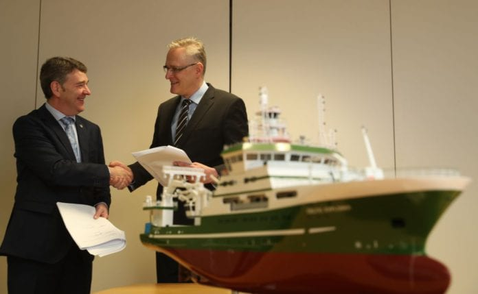 Galway daily news Contract awarded to design cutting edge research ship for marine institute