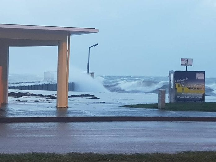 Galway Daily news City council closing Salthill car parks due to Storm Ellen