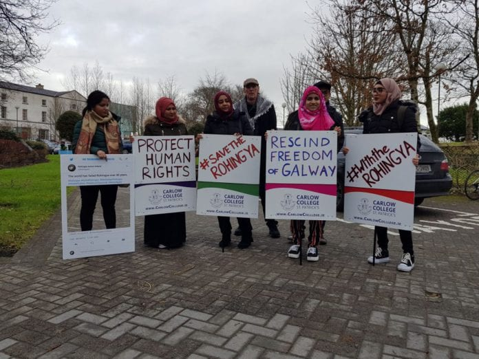 Galway Daily news Galway revokes Freedom of the city award for Aung San Suu Kyi