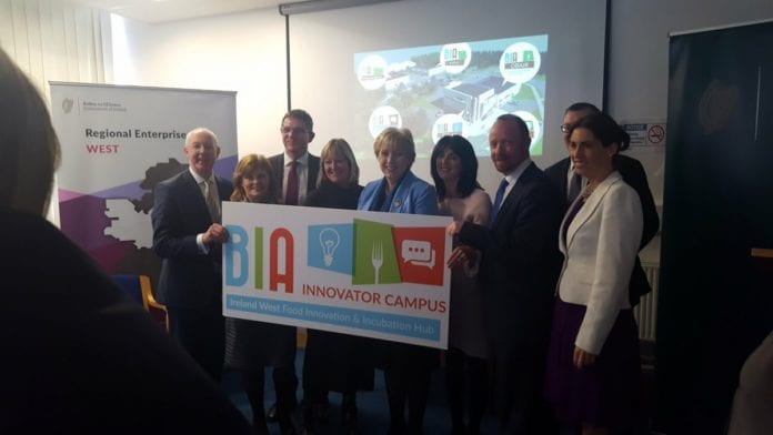 Galway Daily news multi million funding announced for Athenry BIA Innovator campus