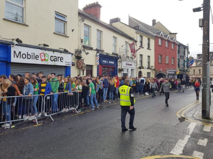 Galway daily news massive crowds of students turn out for Donegal Tuesday