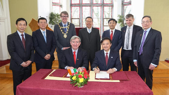 Galway Daily news NUI Galway announces institute of Chinese medicine