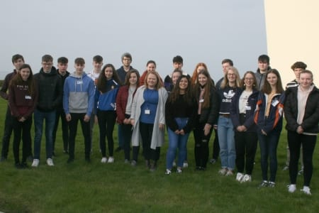 Galway daily news Transition Year students from six counties study ocean science with the Marine institute