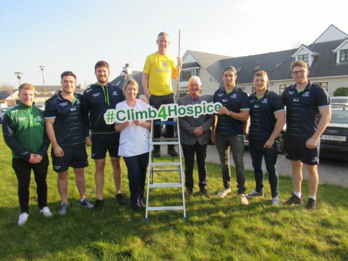 Galway Daily news Climb Croagh patrick in aid of Galway Hospice with the Connacht Rugby team