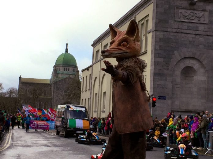 Galway Daily news Tens of thousands pack Galway for St Patrick's Day festivities