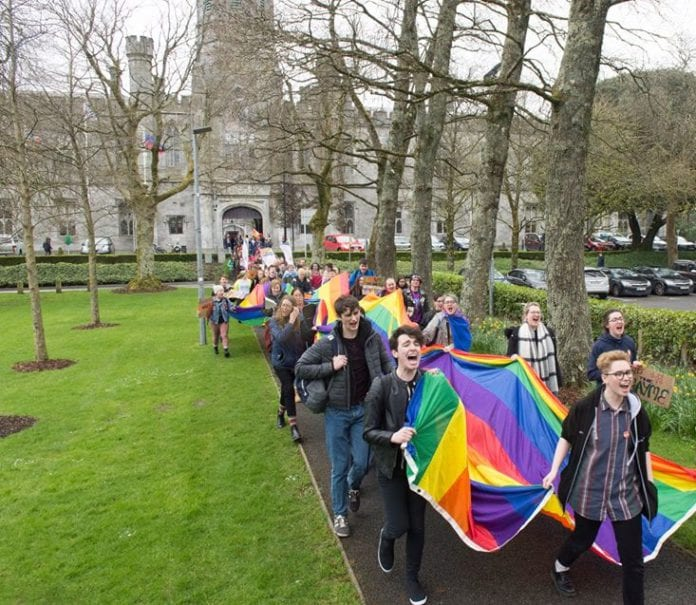 nui galway pride march
