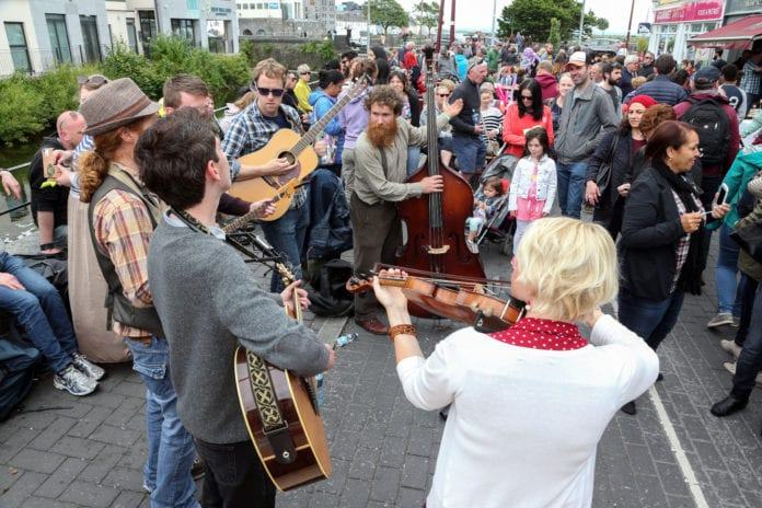 west end street festival galway city life people muisc festival galway daily news