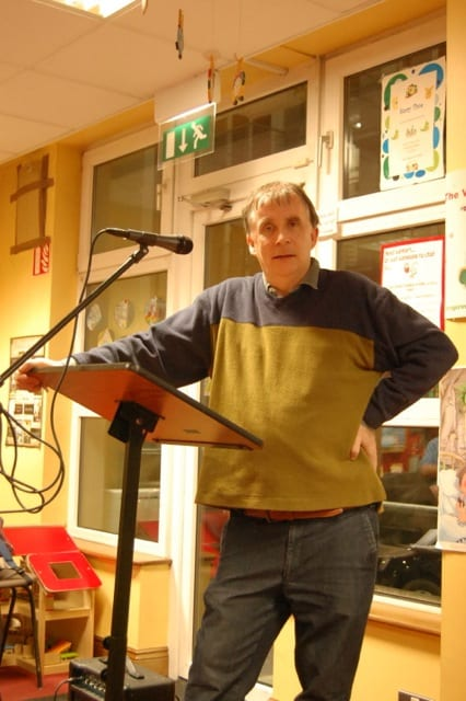 Galway Daily life & style Kevin Higgins leading poetry workshops at Galway arts centre