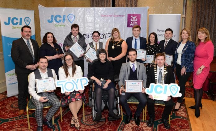 outstanding young people galway