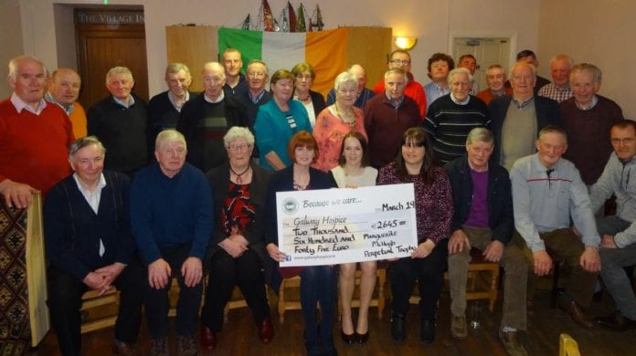 Galway Daily news Card Game night raises over €2,500 for Galway Hospice