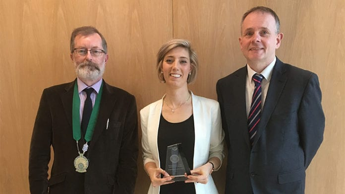 Galway Daily news Galway student wins prestigious chemistry award for viral infection research