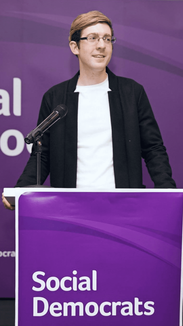 GalwayDaily news Galway Daily spoke to Social Democrats candidate for Galway City East Owen Hanley