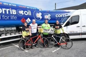 Galway Daily sport 25 years cycling the Corrib in aid of Croí