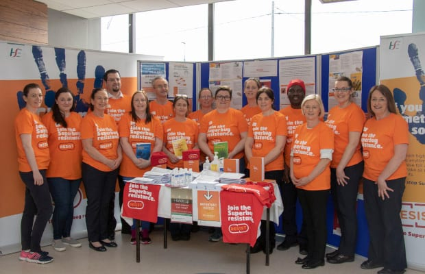 Galway Daily news Portiuncula Hospital piloting new hygiene campaign to fight superbugs