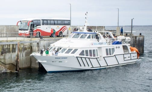 Galway Daily news Bus Eireann launches new joint ferry service exploring the Wild Atlantic Way