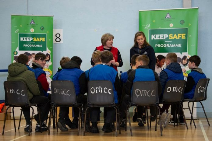Galway Daily news Oranmore School pupils learn to Keep Safe and Helath and safety roadshow