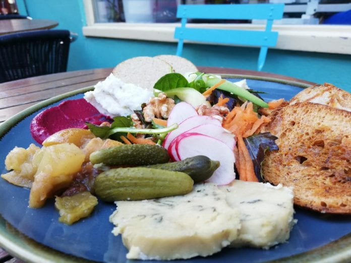 Galway Daily life & style Lighthouse café says bring you own Buckfast for their vegan cheeseboards