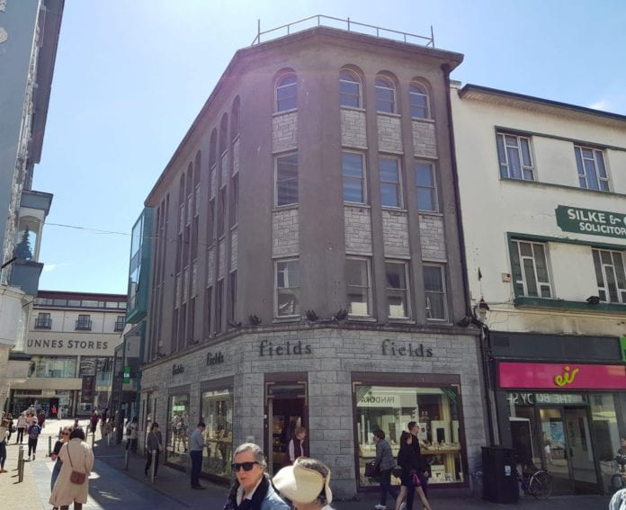 Galway daily business City Centre retail property on sale for over €2 million