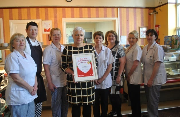 Galway Daily news Portiuncula Hospital awarded Heart Foundation award for third year running