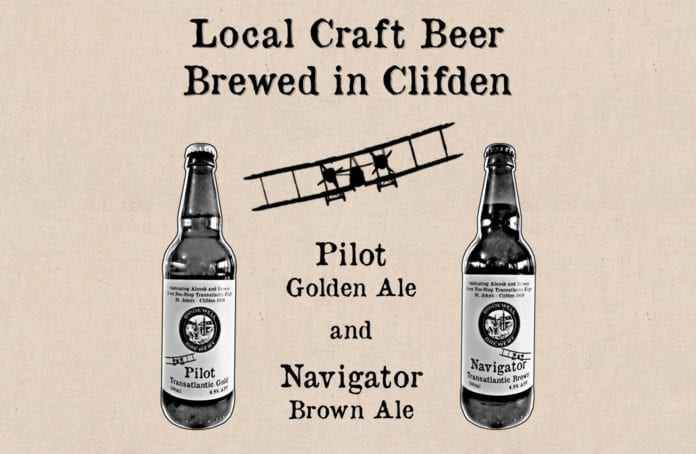 Galway Daily life & style Clifden brewery creates two craft beers for transatlantic flight centenary