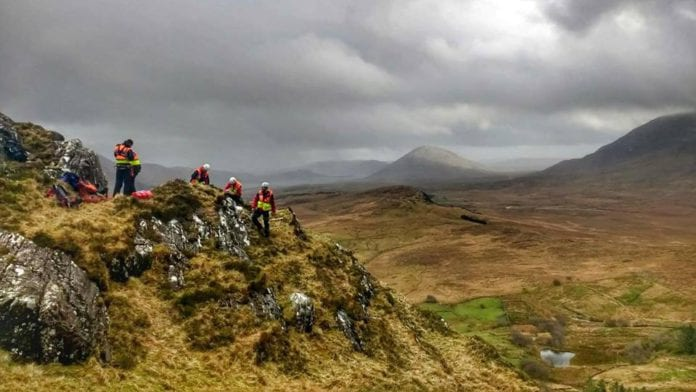 Galway Daily news Galway Mountain Rescue goes two months without an emergency