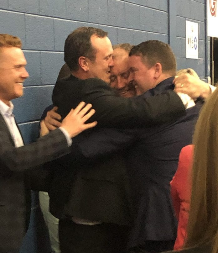 Galway Daily news Fianna Fáil celebrates becoming the largest party in Galway city council