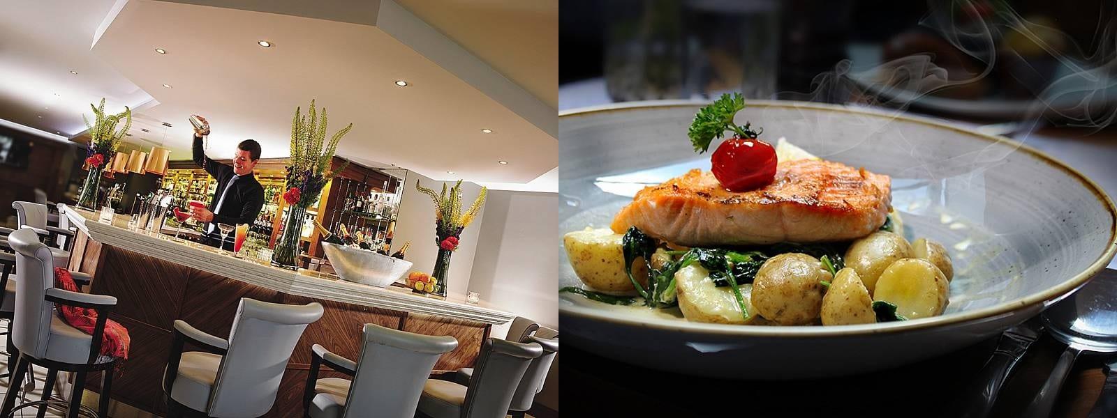 Connacht Hotel dining