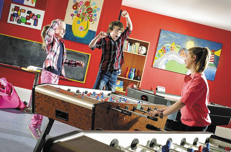 Connacht Hotel kids club