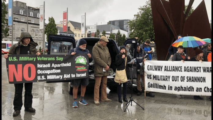 Galway Daily news Anti-Trump protest in Eyre Square
