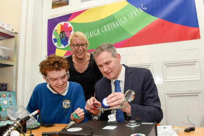 Galway Daily news Irish Language tech hub for young people opens in Galway city