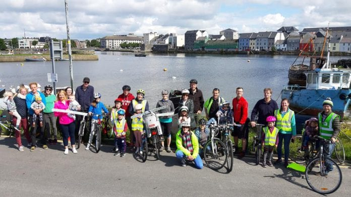 Galway daily news Dozens cycle in support of Galway-Barna Greenway