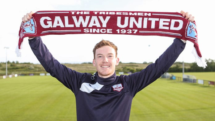 Galway daily sport Jack Lynch signs with Galway United