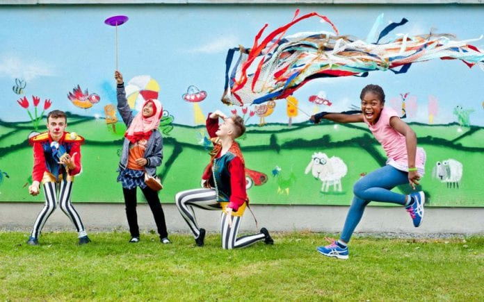 Galway daily life & style Young people getting creative at Cruinniú na nÓg