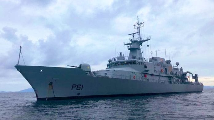Galway daily news Navy patrol ship the Samuel Beckett docking for tours in Galway