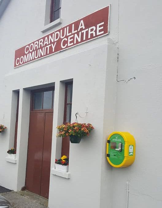 Galway Daily news Corrandulla village gets new community defibrillator