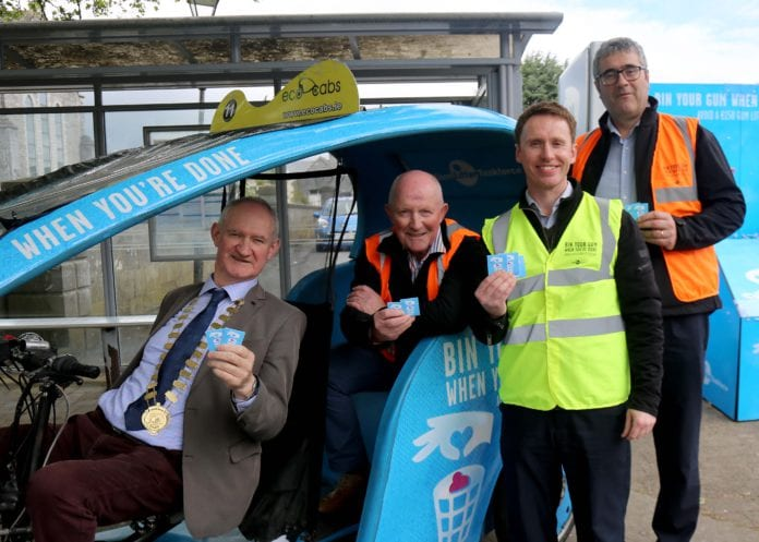 gum litter campaign galway daily