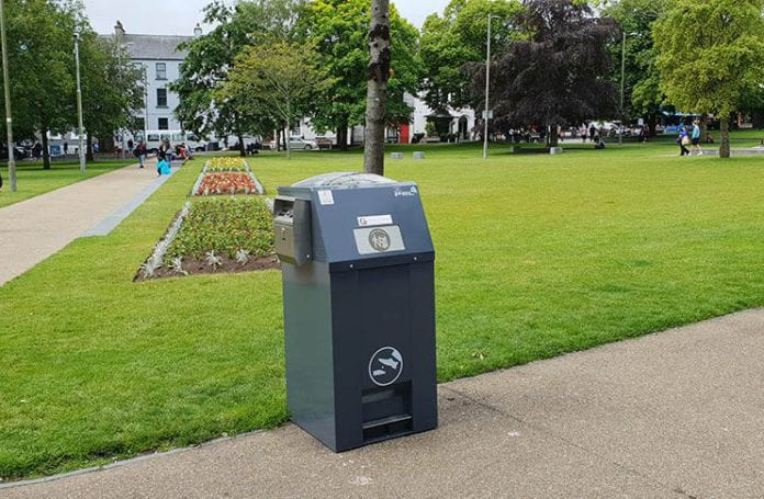 Galway daily news Fofty solar powered compactor bins installed around Galway city
