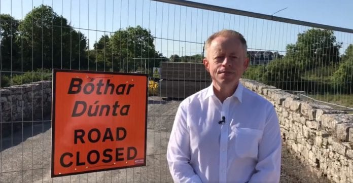 Galway Daily news €200k secured for reconstruction of collapsed Dunkellin Bridge