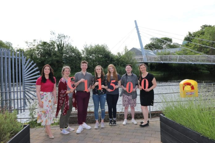 Galway Daily news NUIG Students Union raises €11,500 for COPE and Rape Crisis Centre