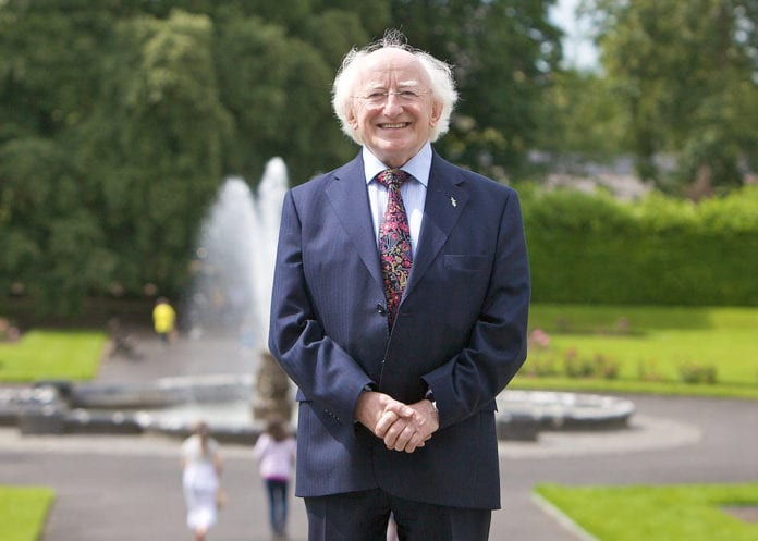 MICHAEL d higgins germany galway daily