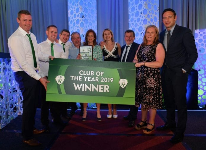 galway daily fai club of the year winner