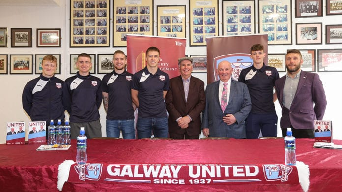 Galway Daily sport Galway United Comer announcement