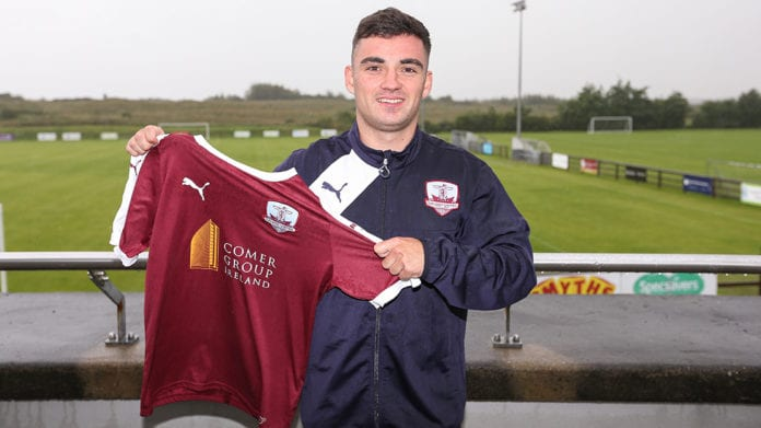 Galway daily sport Stephen Christopher signs for Galway United