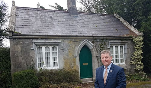 Galway Daily news Portumna Castle Gate Lodge taken over by state