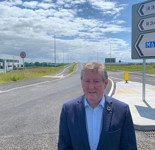Galway Daily news Athenry link road opening next week
