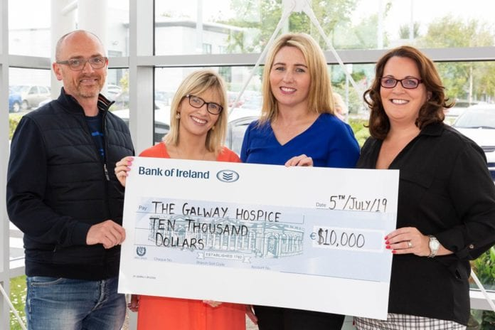 Galway Daily news Creganna Medical donates €10,000 to Galway Hospice