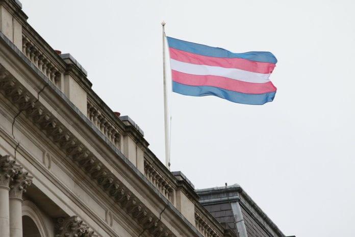 galway pride 2019 trans flag lgbt+
