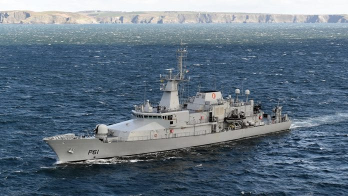 Galway Daily news Naval service ship guided tours
